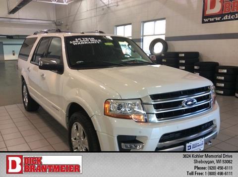 2015 Ford Expedition EL for sale in Sheboygan, WI