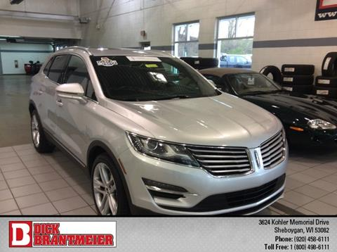2015 Lincoln MKC for sale in Sheboygan, WI