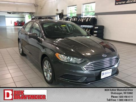 2017 Ford Fusion for sale in Sheboygan, WI