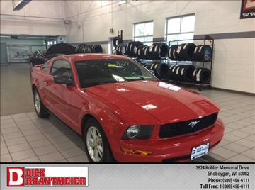 2007 Ford Mustang for sale in Sheboygan, WI