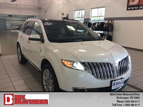 2011 Lincoln MKX for sale in Sheboygan, WI