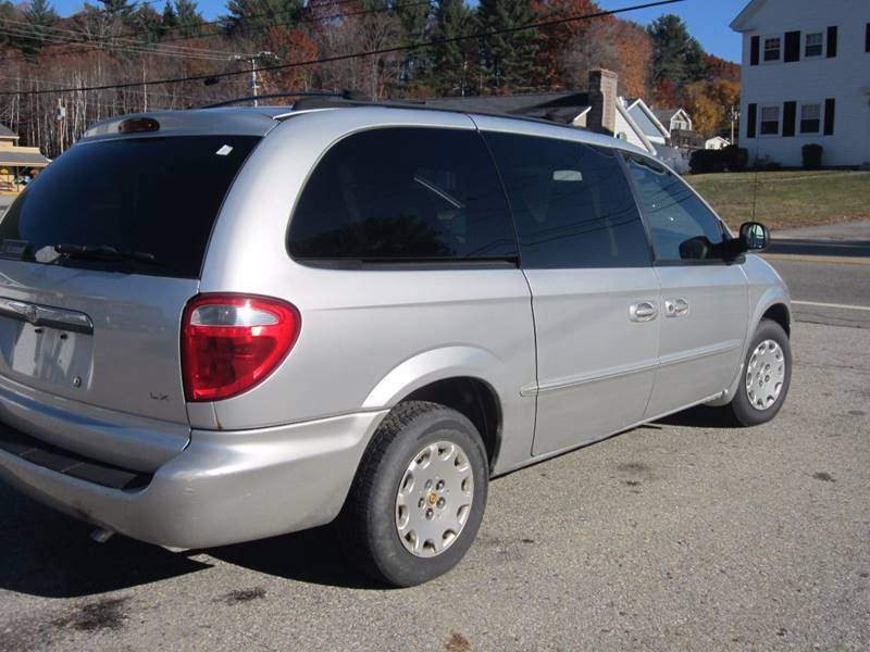 2002 Chrysler Town and Country LX 4dr Extended Mini-Van - Sanbornville NH