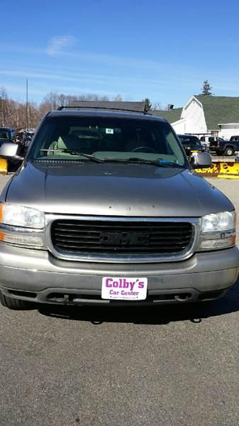 2001 GMC Yukon XL 1500 SLT 4WD 4dr SUV - Sanbornville NH