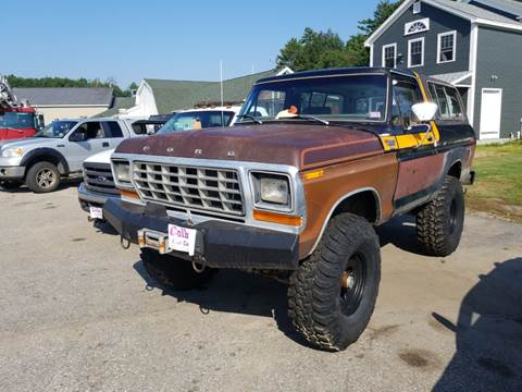 1979 Ford Bronco for sale in Sanbornville, NH
