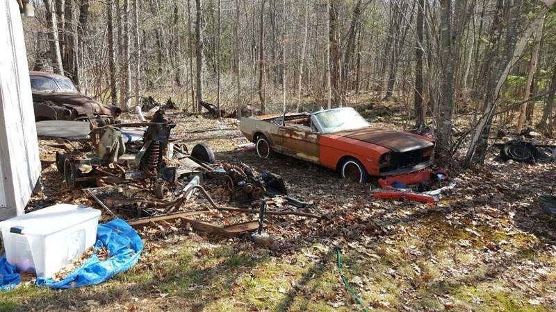 1966 Ford Mustang CONVERTABLE - Sanbornville NH