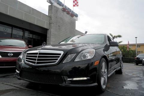 2013 Mercedes-Benz E-Class for sale in Hialeah, FL