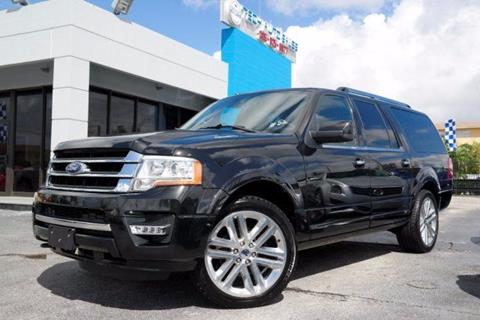 2015 Ford Expedition EL for sale in Hialeah, FL