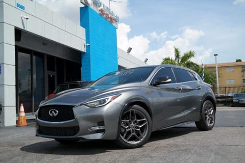 2017 Infiniti QX30 for sale at Tech Auto Sales in Hialeah FL