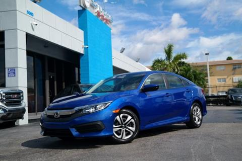 2017 Honda Civic for sale at Tech Auto Sales in Hialeah FL
