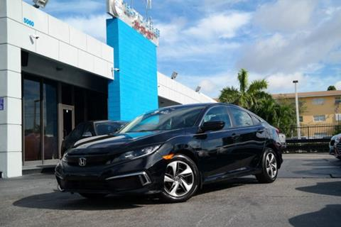 2019 Honda Civic for sale at Tech Auto Sales in Hialeah FL
