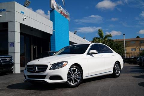 2016 Mercedes-Benz C-Class for sale at Tech Auto Sales in Hialeah FL