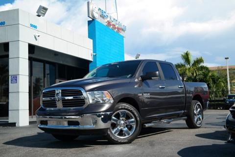 2017 RAM Ram Pickup 1500 for sale at Tech Auto Sales in Hialeah FL