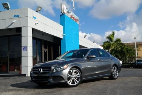 2018 Mercedes-Benz C-Class for sale at Tech Auto Sales in Hialeah FL