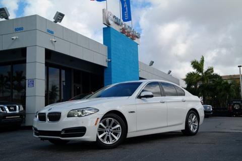 2014 BMW 5 Series for sale in Hialeah, FL