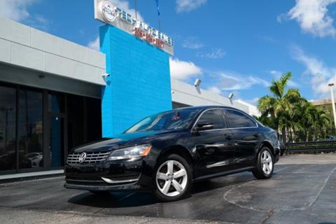 2013 Volkswagen Passat for sale at Tech Auto Sales in Hialeah FL