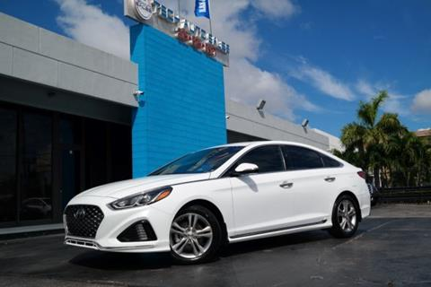2018 Hyundai Sonata for sale at Tech Auto Sales in Hialeah FL
