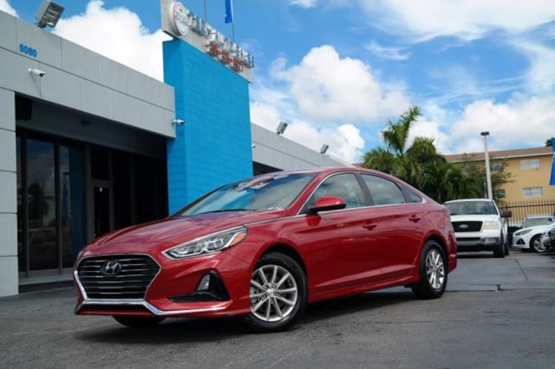 2018 Hyundai Sonata for sale at Tech Auto Sales in Hialeah FL