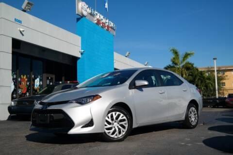 2018 Toyota Corolla for sale at Tech Auto Sales in Hialeah FL