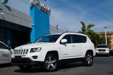 2017 Jeep Compass for sale at Tech Auto Sales in Hialeah FL