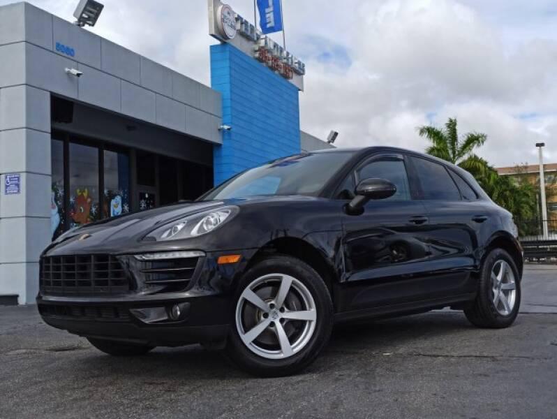 2017 Porsche Macan for sale at Tech Auto Sales in Hialeah FL