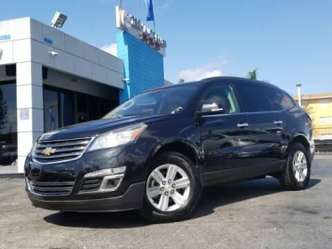2014 Chevrolet Traverse for sale at Tech Auto Sales in Hialeah FL