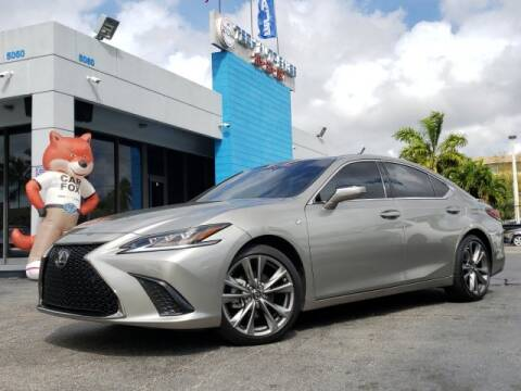 2019 Lexus ES 350 for sale at Tech Auto Sales in Hialeah FL