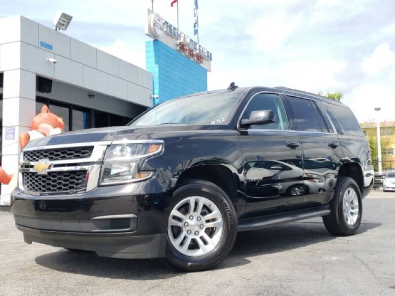 2019 Chevrolet Tahoe for sale at Tech Auto Sales in Hialeah FL