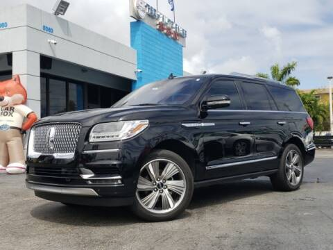2018 Lincoln Navigator for sale at Tech Auto Sales in Hialeah FL