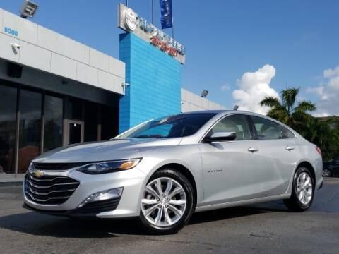 2020 Chevrolet Malibu for sale at Tech Auto Sales in Hialeah FL