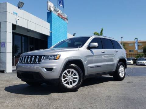 2018 Jeep Grand Cherokee for sale at Tech Auto Sales in Hialeah FL