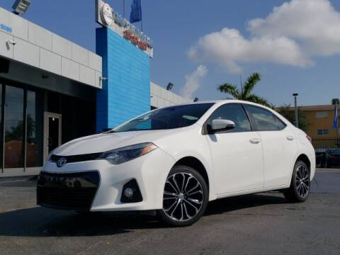 2016 Toyota Corolla for sale at Tech Auto Sales in Hialeah FL