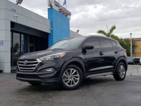 2018 Hyundai Tucson for sale at Tech Auto Sales in Hialeah FL