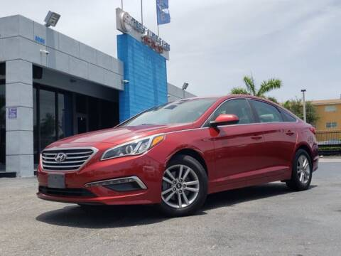 2015 Hyundai Sonata for sale at Tech Auto Sales in Hialeah FL