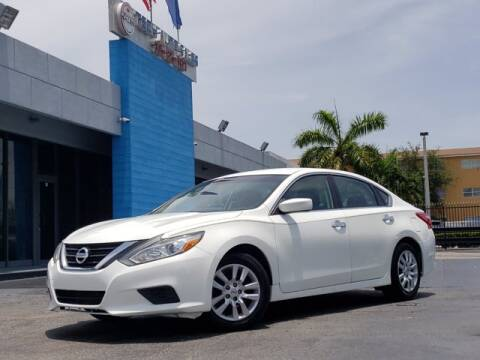 2016 Nissan Altima for sale at Tech Auto Sales in Hialeah FL