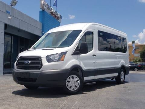2017 Ford Transit Passenger for sale at Tech Auto Sales in Hialeah FL
