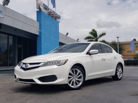 2016 Acura ILX for sale at Tech Auto Sales in Hialeah FL