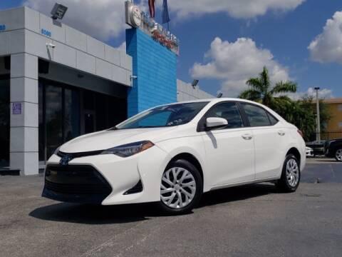 2017 Toyota Corolla for sale at Tech Auto Sales in Hialeah FL