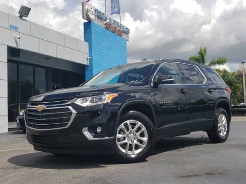 2020 Chevrolet Traverse for sale at Tech Auto Sales in Hialeah FL