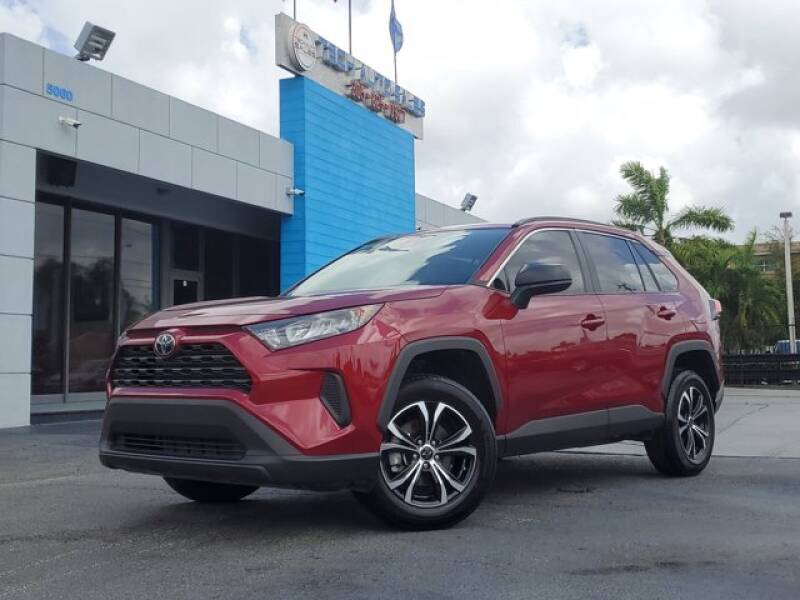 2020 Toyota RAV4 for sale at Tech Auto Sales in Hialeah FL