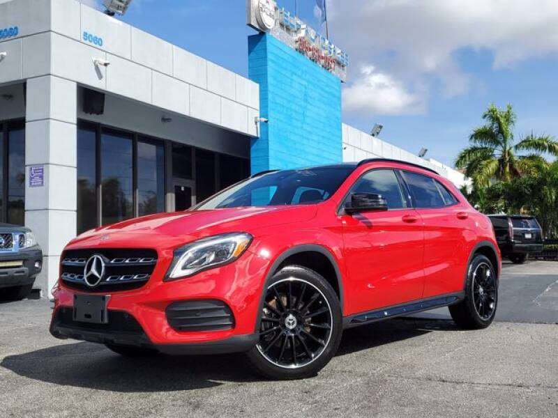 2020 Mercedes-Benz GLA for sale at Tech Auto Sales in Hialeah FL
