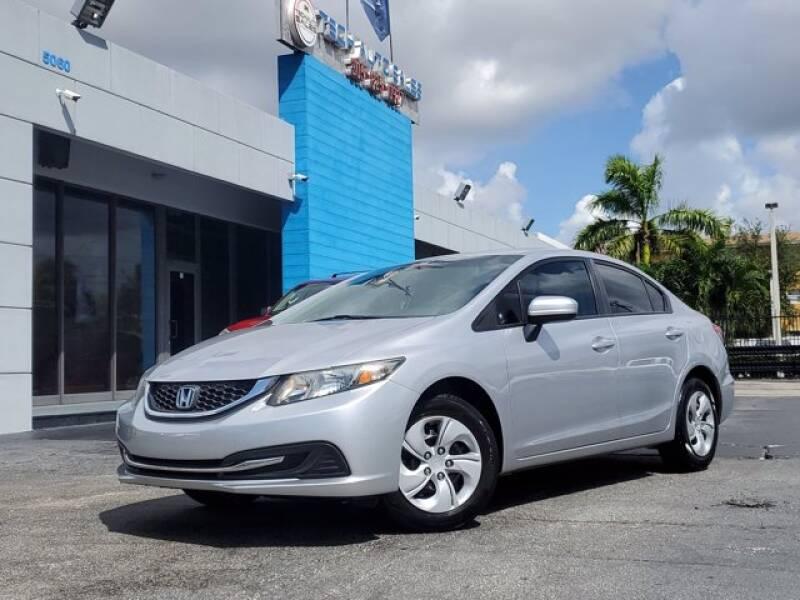 2014 Honda Civic for sale at Tech Auto Sales in Hialeah FL