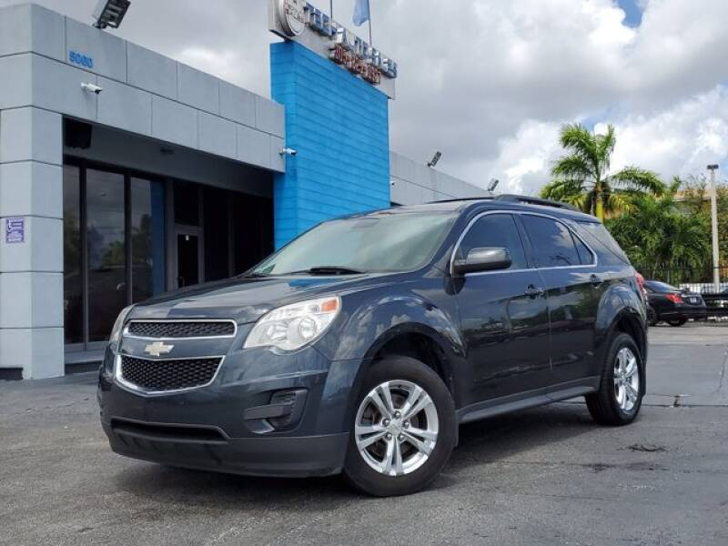 2012 Chevrolet Equinox for sale at Tech Auto Sales in Hialeah FL