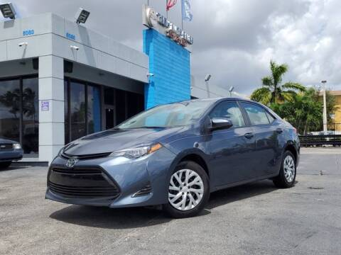 2019 Toyota Corolla for sale at Tech Auto Sales in Hialeah FL
