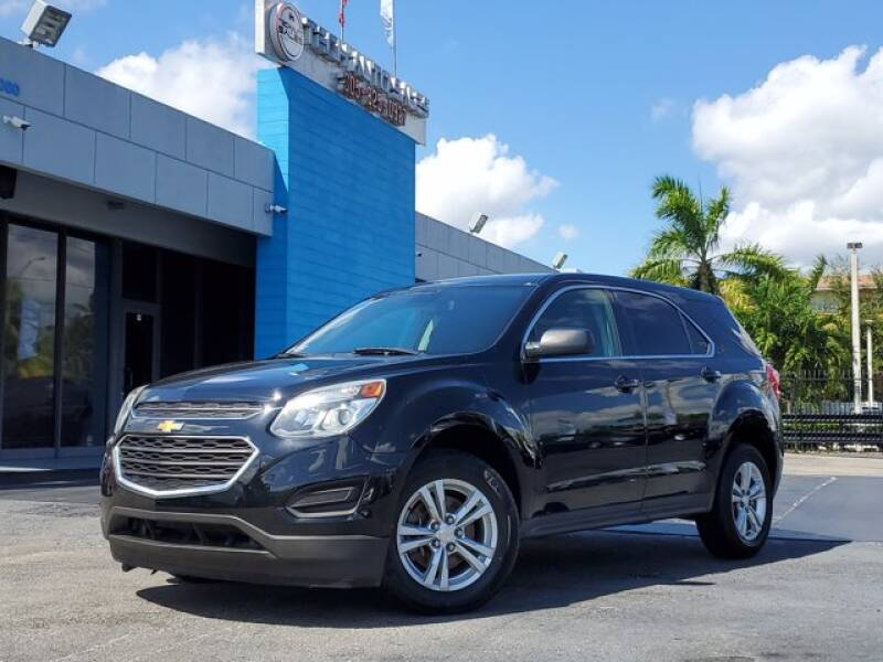 2016 Chevrolet Equinox for sale at Tech Auto Sales in Hialeah FL