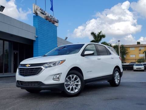 2020 Chevrolet Equinox for sale at Tech Auto Sales in Hialeah FL