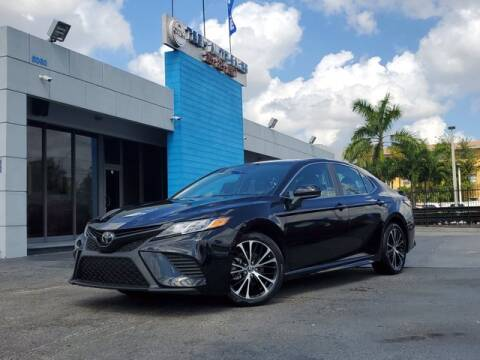 2020 Toyota Camry for sale at Tech Auto Sales in Hialeah FL