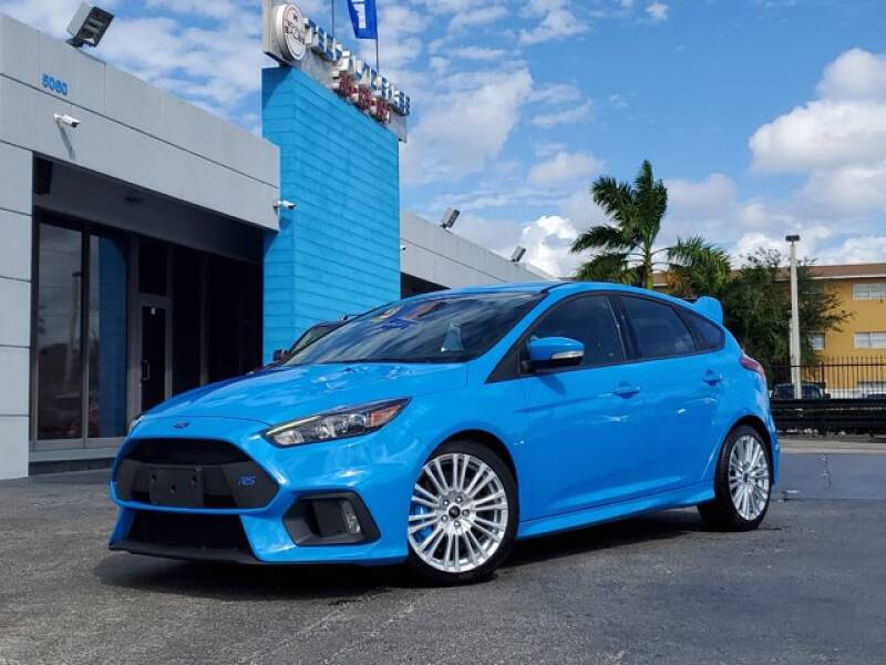 2017 Ford Focus for sale at Tech Auto Sales in Hialeah FL