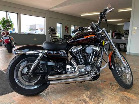 2004 HARLEY DAVIDSON SPORTSTER 1200 for sale at Grace Motor Mall LLC in Traverse City MI
