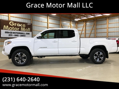 2018 Toyota Tacoma for sale at Grace Motor Mall LLC in Traverse City MI