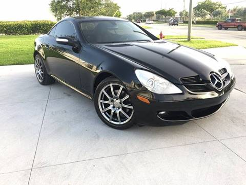 2008 Mercedes-Benz SLK for sale in Pompano Beach, FL